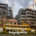 dilapidated high rise houses