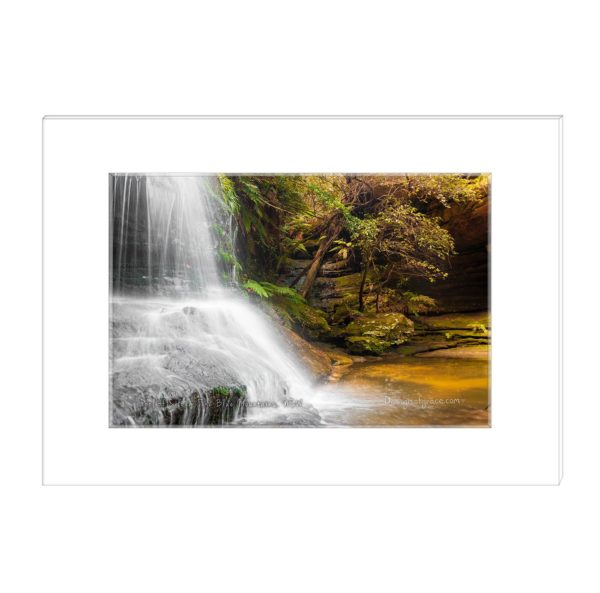 Pool of Siloam waterfall, The Blue Mountains, NSW