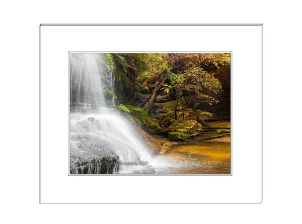 44 Pool of Siloam waterfall, The Blue Mountains, NSW
